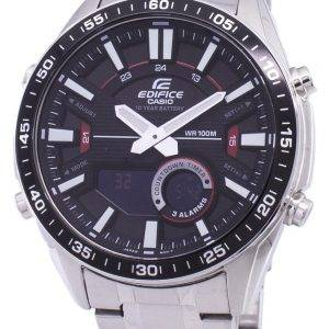 Casio Edifice Alarm Analog Digital Quartz EFV-C100D-1AV EFVC100D-1AV Men's Watch