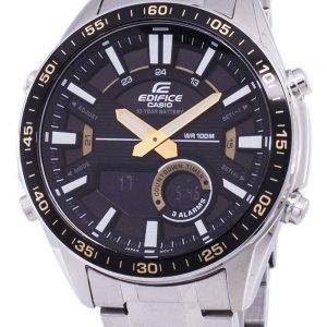 Casio Edifice World Time Quartz EFV-C100D-1BV EFVC100D-1BV Men's Watch