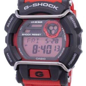 Casio G-Shock Flash Alert Super Illuminator 200M GD-400-4 Mens Watch