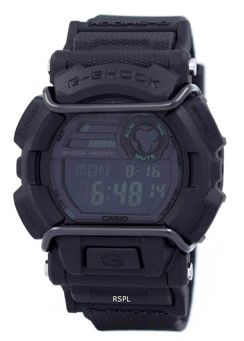 Casio G-Shock Illuminator World Time GD-400MB-1 Mens Watch ... 65f2d71a6
