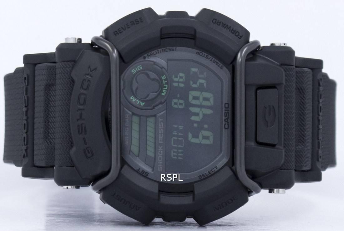 Casio G-Shock Illuminator World Time GD-400MB-1 Mens Watch ... 017652107d