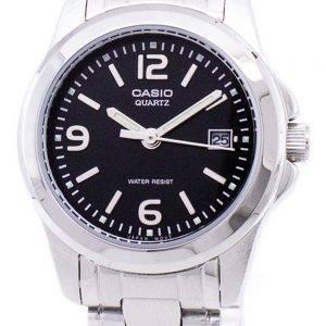 Casio Analog Quartz Black Dial LTP-1215A-1ADF LTP-1215A-1A Womens Watch
