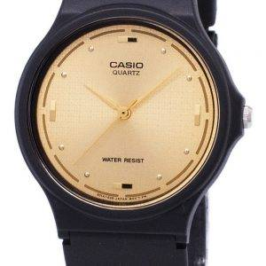 Casio Quartz Enticer Analog Gold Dial MQ-76-9ALDF MQ-76-9AL Mens Watch