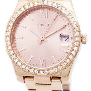 Fossil Scarlette Quartz Diamond Accents ES4318 Women's Watch