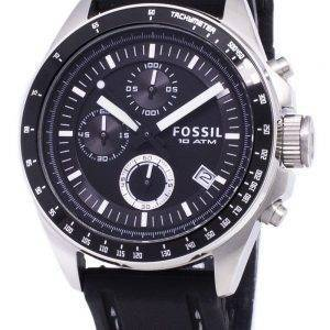 Fossil Decker Chronograph Silicone CH2573 Mens Watch