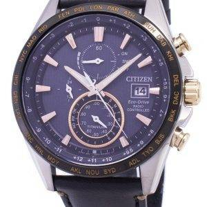 Citizen Eco-Drive Titanium Radio Controlled Power Reserve AT8158-14H Men's Watch