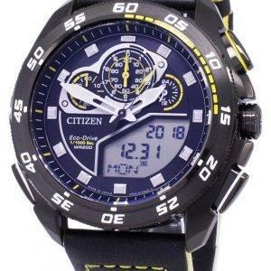 Citizen Promaster Eco-Drive Chronograph 200M Japan Made JW0127-04E Men's Watch