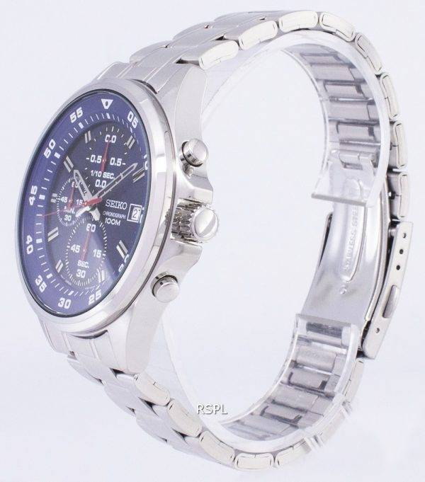 Seiko Chronograph Quartz SKS625 SKS625P1 SKS625P Men's Watch
