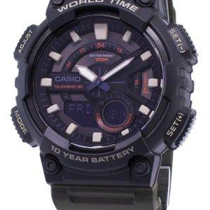 Casio Youth Combination AEQ-110W-3AV Sports Digital Men's Watch