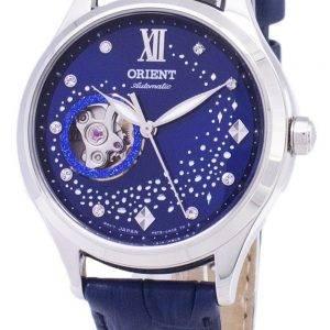 Orient Automatic RA-AG0018L10B Open Heart Dimond Accents Women's Watch