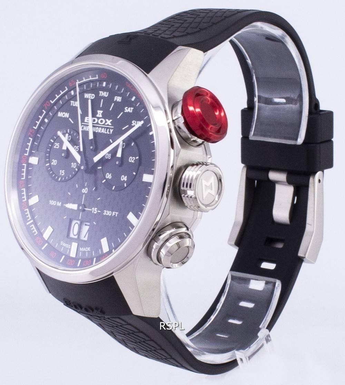 Edox Chronorally 38001TINNIN 38001 TIN NIN Chronograph Quartz Men s Watch a12862fa712