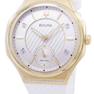 Bulova CURV 98R237 Quartz Diamond Accents Women's Watch