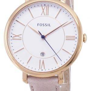 Fossil Jacqueline Quartz Blush Leather Strap ES3988 Womens Watch