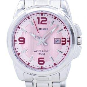 Casio Enticer Analog Quartz LTP-1314D-5AVDF LTP-1314D-5AV Womens Watch