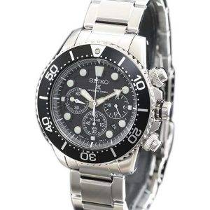 Seiko Prospex Scuba Diver SBDL047 Japan Made Chronograph Solar 200M Men's Watch