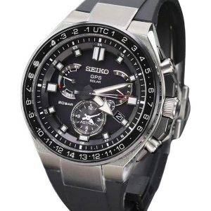Seiko Astron SBXB169 GPS Solar Titanium Power Reserve Japan Made Men's Watch