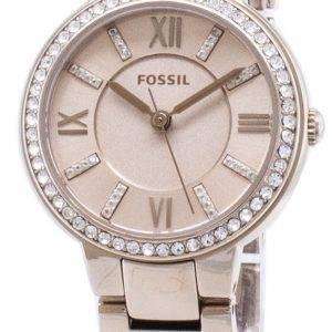Fossil Virginia ES4482 Diamond Accents Quartz Women's Watch