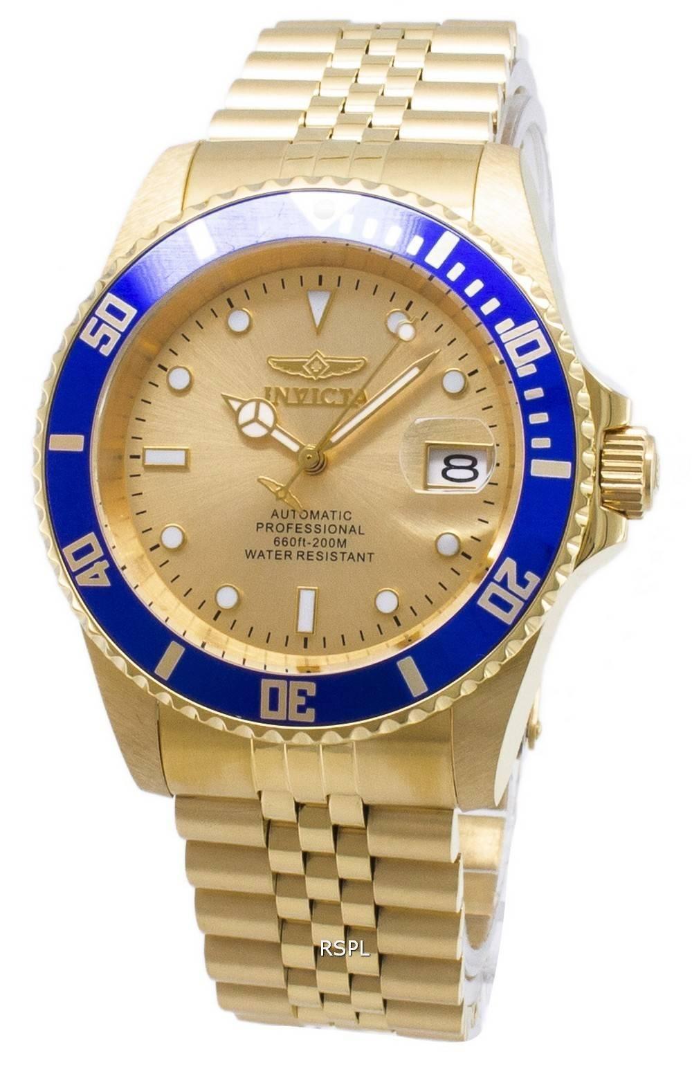 b93e5869a Invicta Pro Diver Professional 29185 Automatic Analog 200M Men's Watch