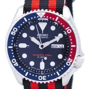 Seiko Automatic Diver's 200M NATO Strap SKX009J1-NATO3 Men's Watch