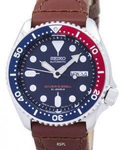 Seiko Automatic Diver's Canvas Strap SKX009J1-NS1 200M Men's Watch