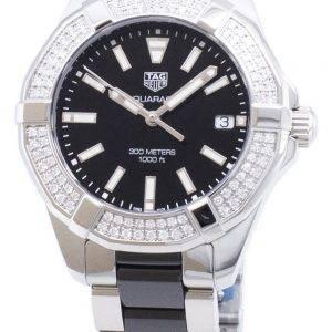 Tag Heuer Aquaracer WAY131E.BA0913 Diamond Accents Quartz 300M Women's Watch
