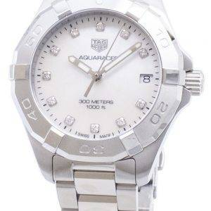 Tag Heuer Aquaracer WBD1314.BA0740 Diamond Accents Quartz 300M Women's Watch