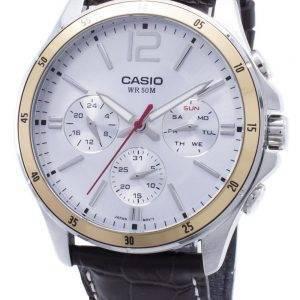 Casio Enticer MTP-1374L-7AV MTP1374L-7AV Chronograph Analog Men's Watch