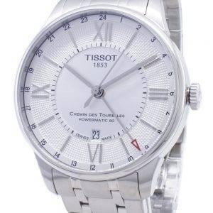 Tissot T-Classic Chemin Des Tourelles T099.429.11.038.00 T0994291103800 Powermatic 80 Men's Watch