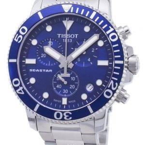Tissot T-Sport Seastar 1000 T120.417.11.041.00 T1204171104100 Chronograph 300M Men's Watch
