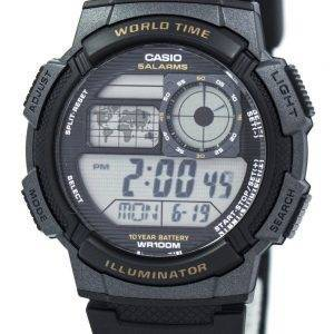 Casio Youth Digital World Time AE-1000W-1AV Men's Watch