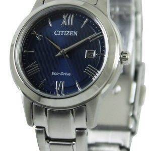 Citizen Eco-Drive Blue Dial FE1081-59L Womens Watch
