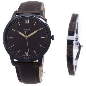 Fossil The Minimalist 3H Quartz FS5557SET Men's Watch
