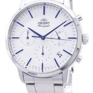 Orient Contemporary Chronograph RA-KV0302S00C Quartz Japan Made Men's Watch