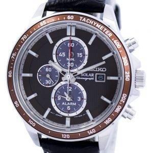 Seiko Solar Alarm Chronograph SSC503 SSC503P1 SSC503P Mens Watch