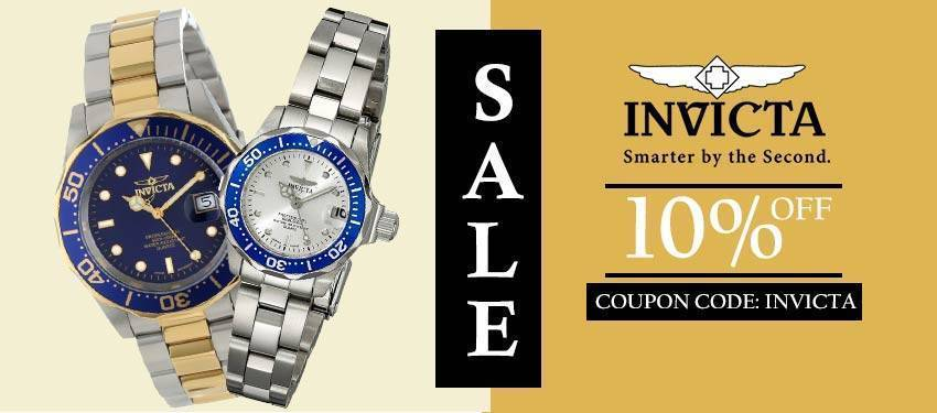 Invicta Sale