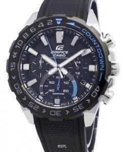 Casio Edifice EFS-S550PB-1AV EFSS550PB-1AV Chronograph Solar Men's Watch